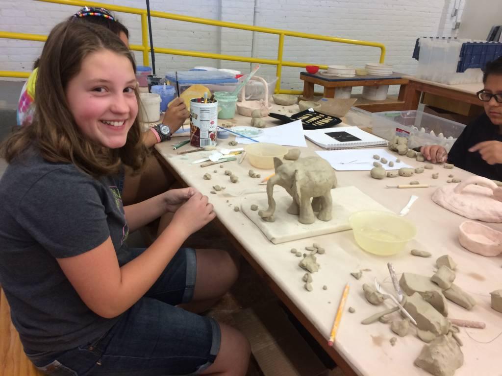 Clay Camp - Week 1 -      Hand Building:   8-12 yrs