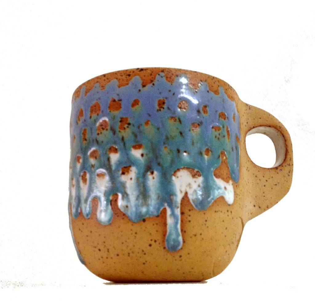 Alex Corrin Alex Corrin - Blue and White Mug