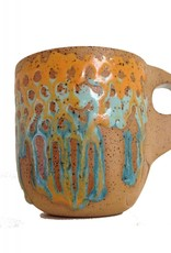 Alex Corrin Alex Corrin - Orange, Blue and Turquoise Mug