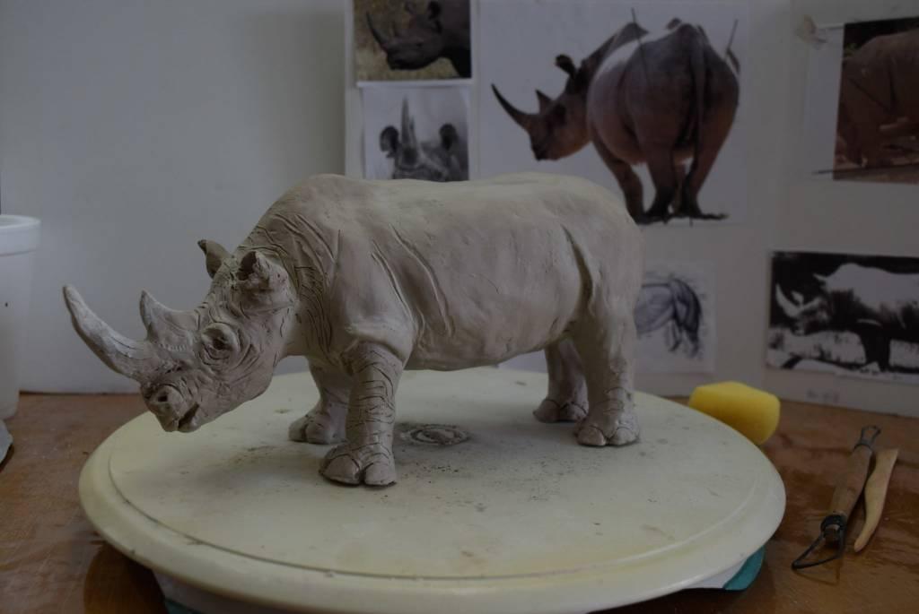 Beginning Sculpture - Afternoons - Wednesdays & Fridays