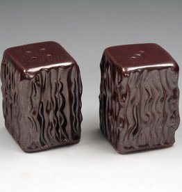 Ben Rigney Ben Rigney - Small Rectangle Tenmoku Salt & Pepper Shakers