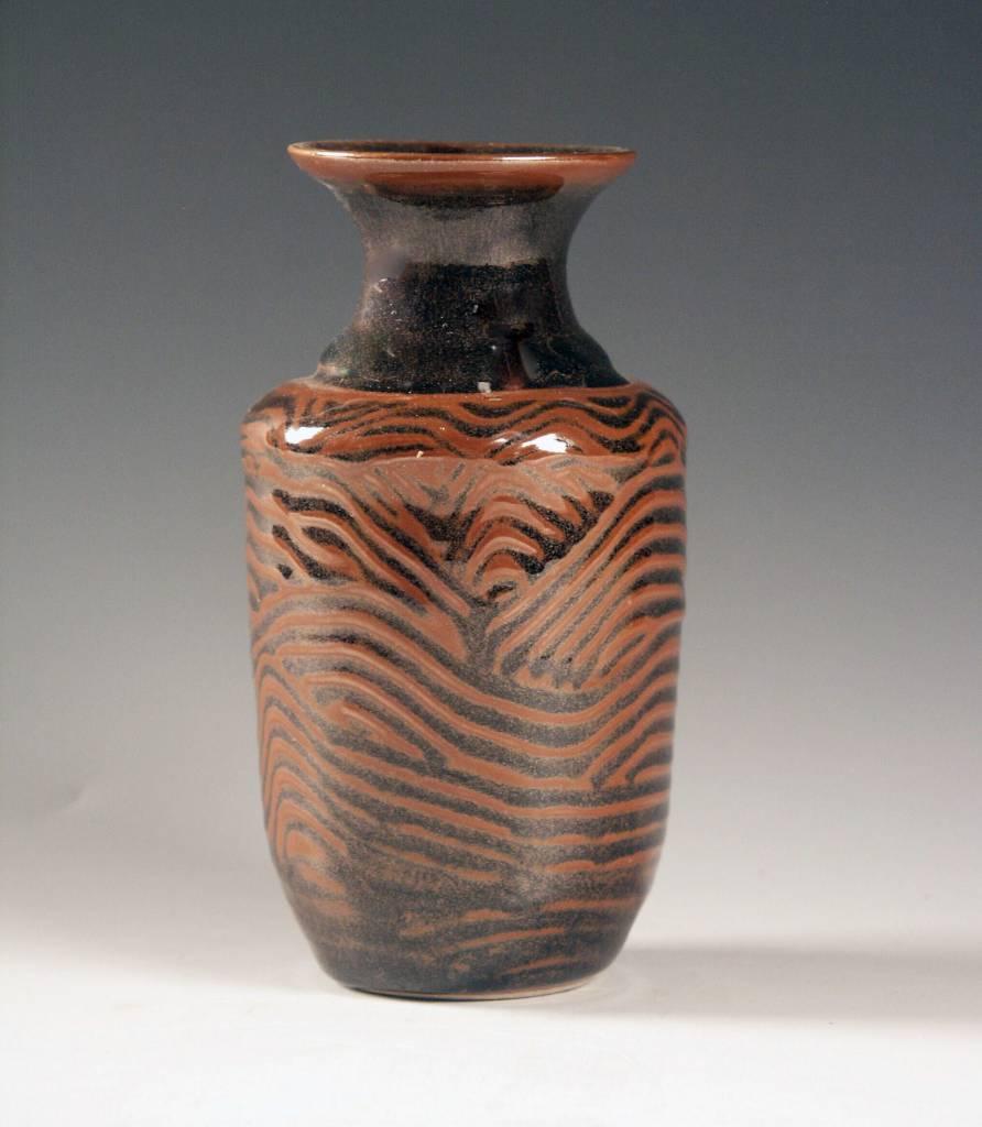 Ben Rigney Ben Rigney - Tenmoku Bud Vase