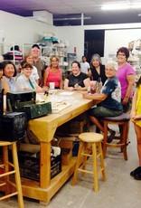 Friday Night in the Studio - June 1st - Hand Build Ceramic Rain Stick