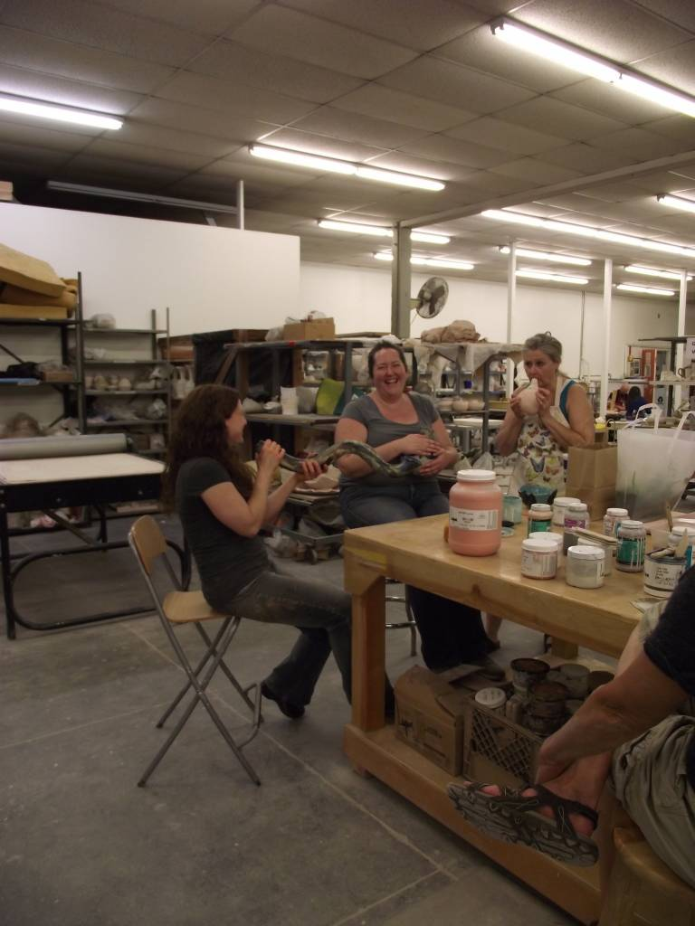 Friday Night in the Studio - June 15th - Hand Build Ceramic Wind Chimes