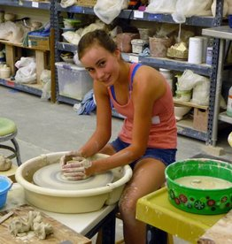 Clay Camp - Week 3 - Wheel Throwing - 12 - 16 yrs