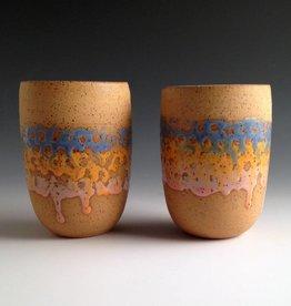 Alex Corrin Alex Corrin - Set of Blue & Orange Tumblers