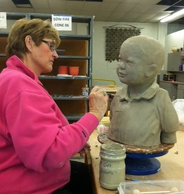 Portraiture Sculpture - Wednesdays & Fridays