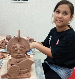 Clay Camp - Week 4 - Hand Building - ages 8 - 12