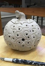 Friday Night in the Studio - October 26th - Hand Build Ceramic Pumpkins