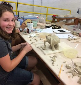 Illustration and Sculpting for Young Artists - September