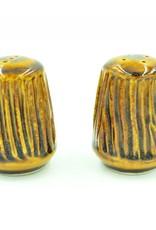 Ben Rigney Ben Rigney - Small Round Tenmoku Salt & Pepper Shakers