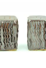 Ben Rigney Ben Rigney - Small Rectangle Tenmoku Salt & Pepper Shakers