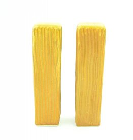 Ben Rigney Ben Rigney - Tall Rectangle Yellow Salt & Pepper Shakers