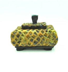 Cheryl Tall Honeycomb Box