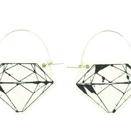 Mimi Logothetis Earrings-Diamond