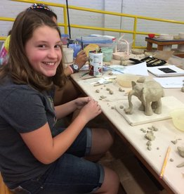 Hand Building Line and Form - Ages 12 and up