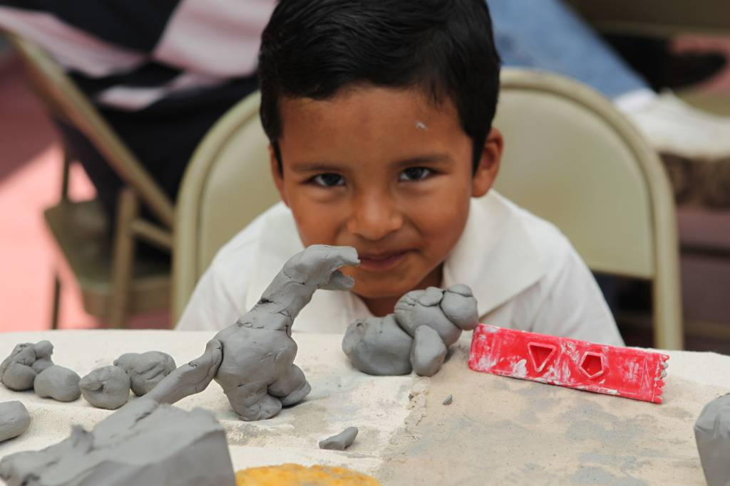 Hand Building Texture & Depth - Ages 7-12