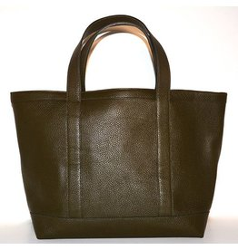 LEATHER TOTE MEDIUM GREEN 54
