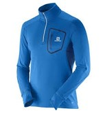 Salomon Men's Trail Runner Warm LS Zip
