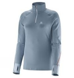 Salomon Women's Trail Runner Warm LS Zip