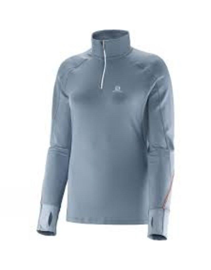 Salomon Women's Trail Runner Warm LS Zip