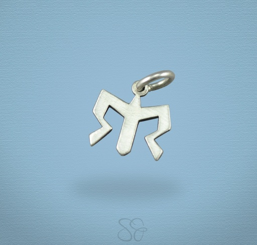 Scott James Ragnar Small Cutout Logo Charm