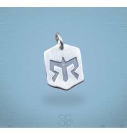 Scott James Chevron Ragnar Logo Charm