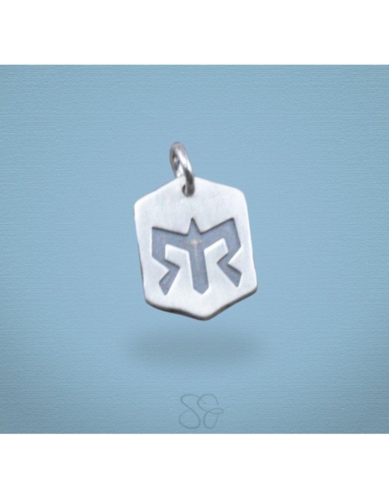 Scott James Chevron Ragnar Logo Charm