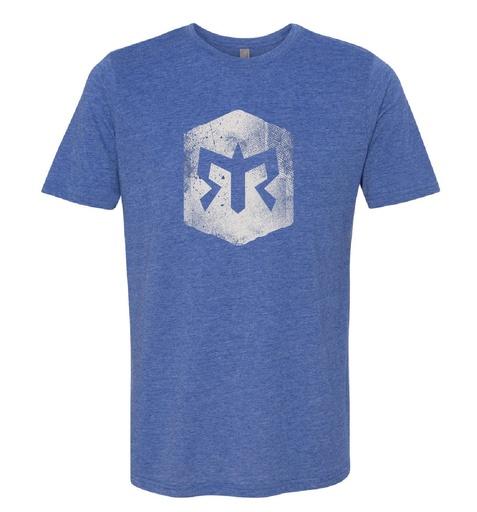 Men's Trail Distressed Trail Blaze Logo T-shirt