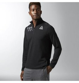 Reebok Men's Workout Ready Wool 1/4 Zip