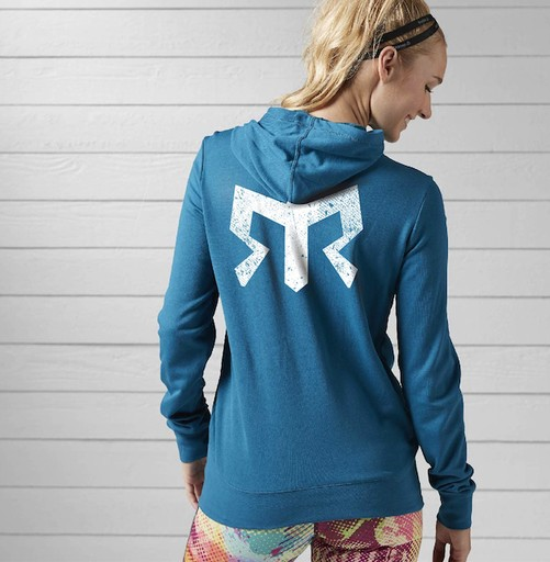 Reebok Women's Elements FT Full Zip Hoodie (SS17)