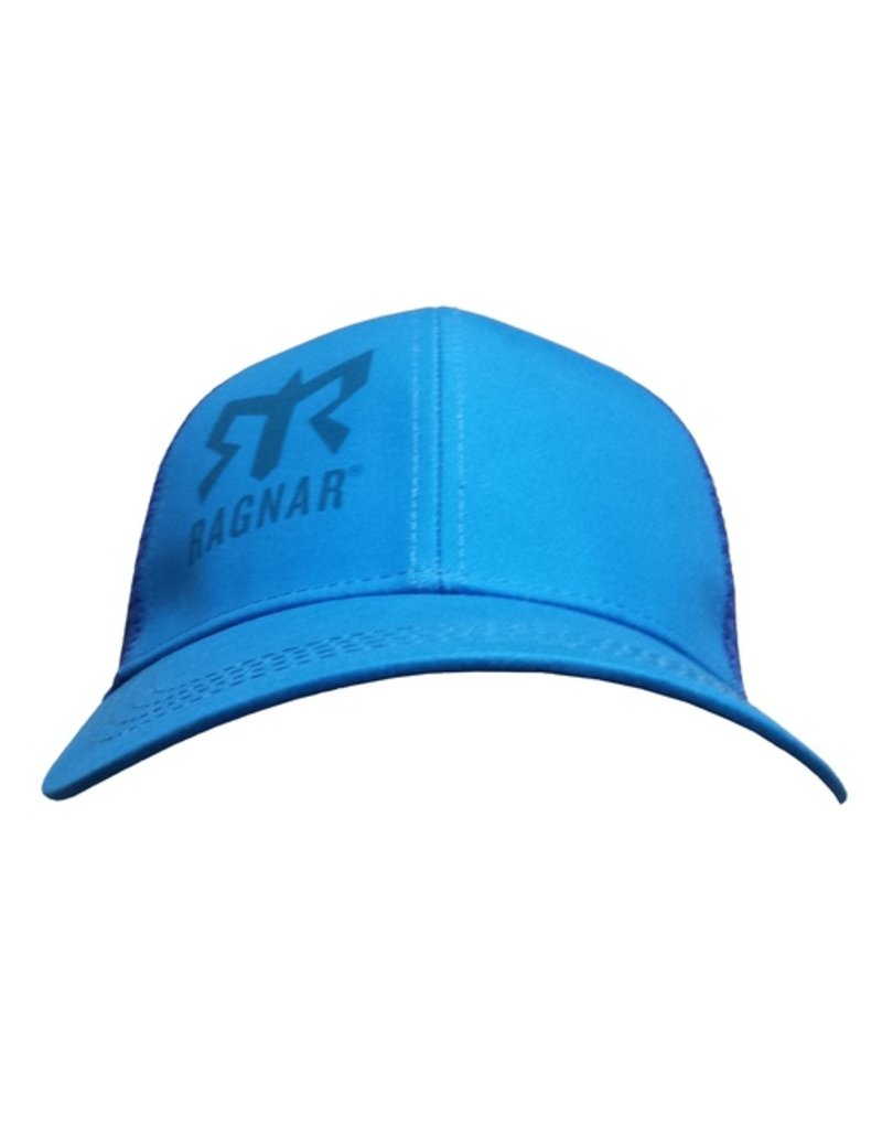 Blue Technical Trucker Hat