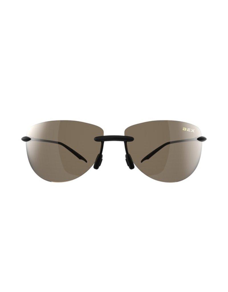 BEX CARSYN III Sunglasses - Black/Brown