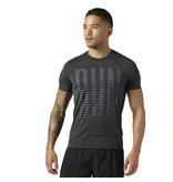 Reebok Men's ONE Series Run ACTIVChill Short Sleeve