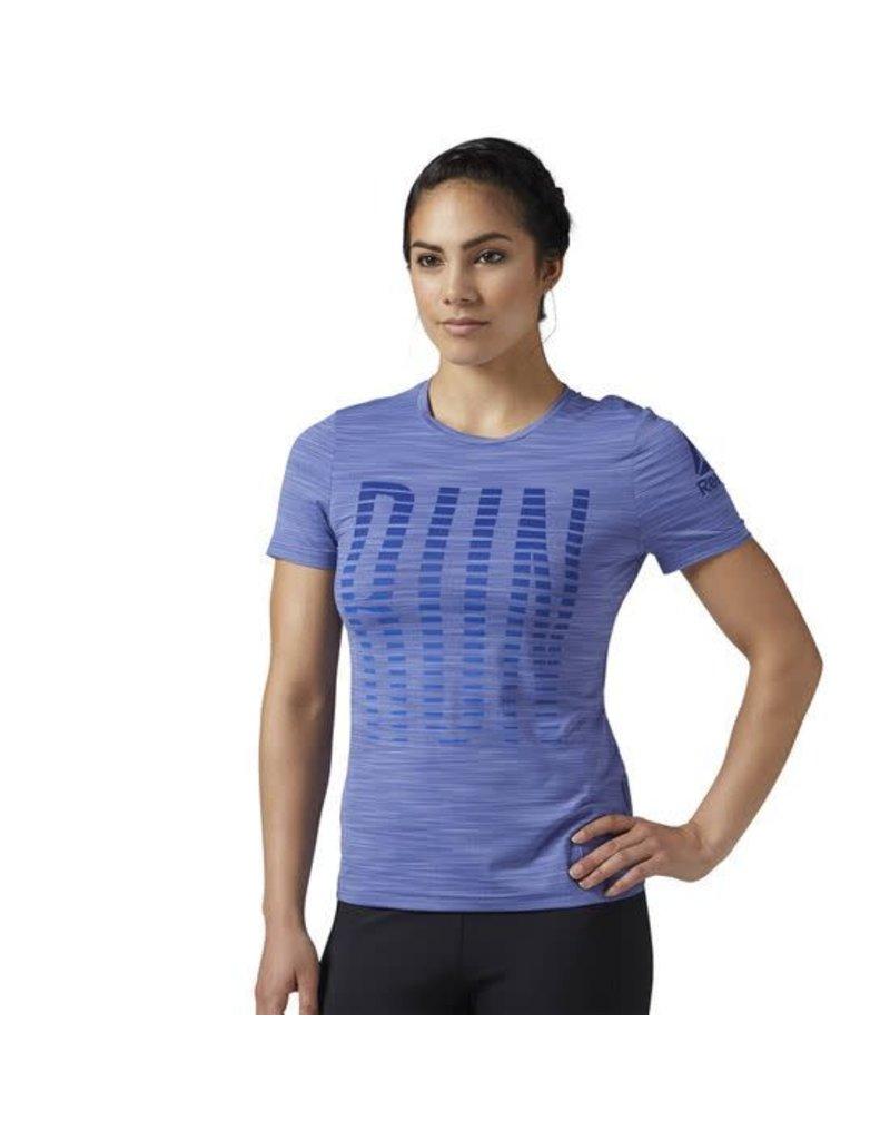 Reebok Women's ONE Series Run ACTIVChill Short Sleeve