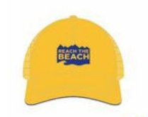 RTB Technical Trucker Hat Yellow