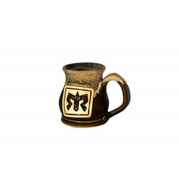 Handmade Pottery Potbelly Coffee Mug