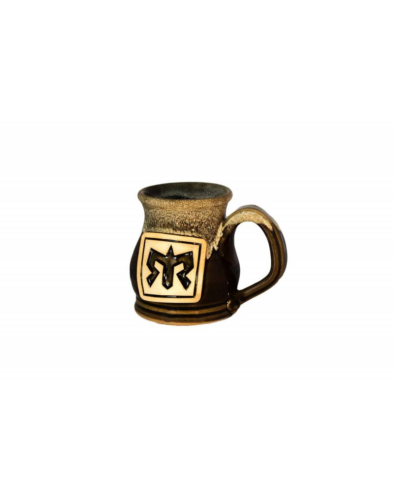 Handmade Pottery Potbelly Coffee Mug