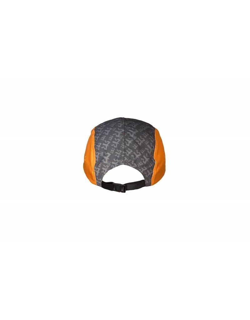 Ragnar Endurance Hat - Grey/Orange