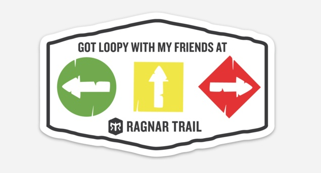 Trail Loop Sticker