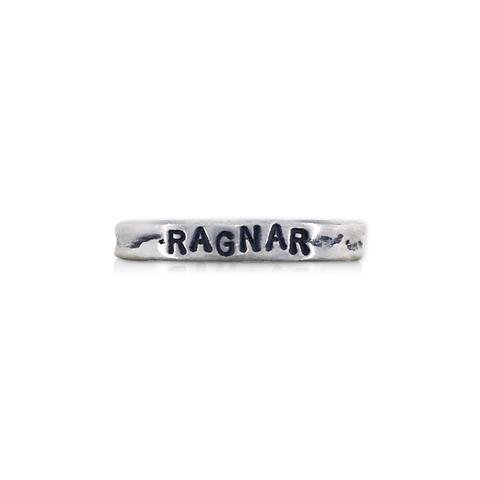 Scott James Jewelry Handstamped Ragnar Ring -
