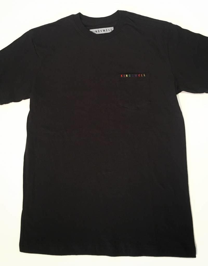 KINGSWELL RAINBOW POCKET TEE