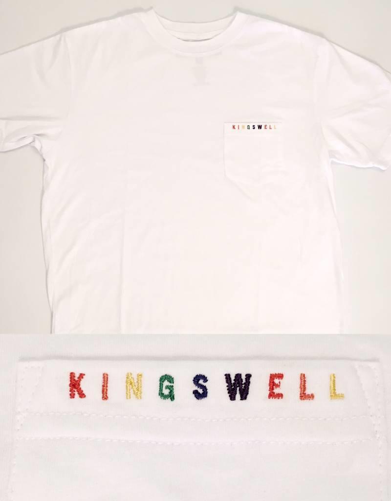 KINGSWELL KINGSWELL K-DUB RAINBOW TEES