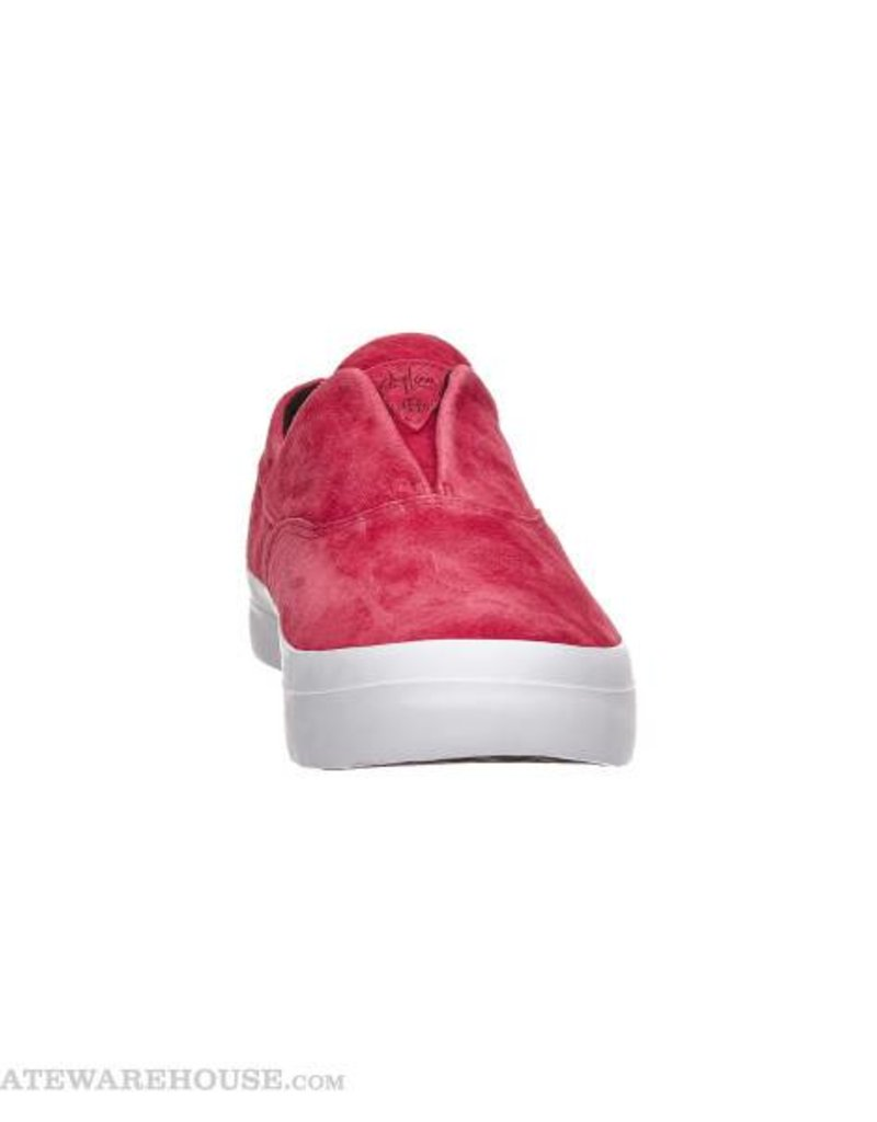 HUF FOOTWEAR HUF DYLAN SLIP ON DEEP RED