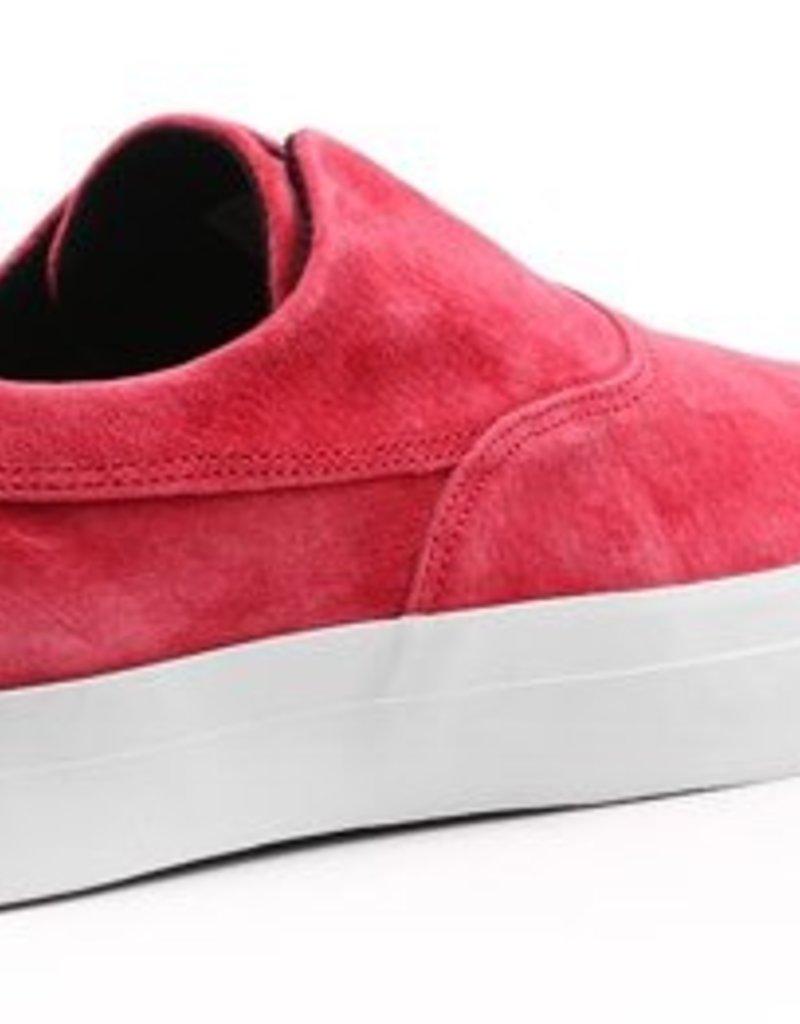 HUF FOOTWEAR HUF DYLAN SLIP ON DEEP RED