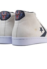 CONVERSE PRO LEATHER MID - WHITE/BLACK/GOLD
