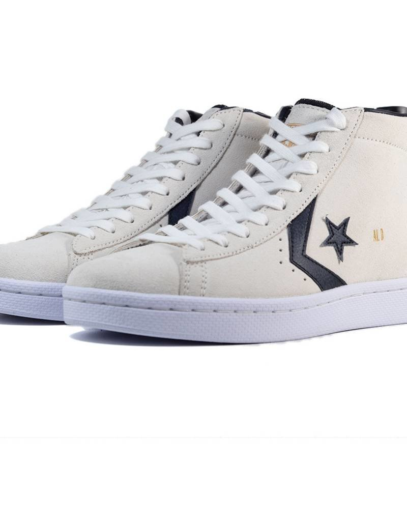 CONVERSE CONVERSE PRO LEATHER MID - WHITE/BLACK/GOLD