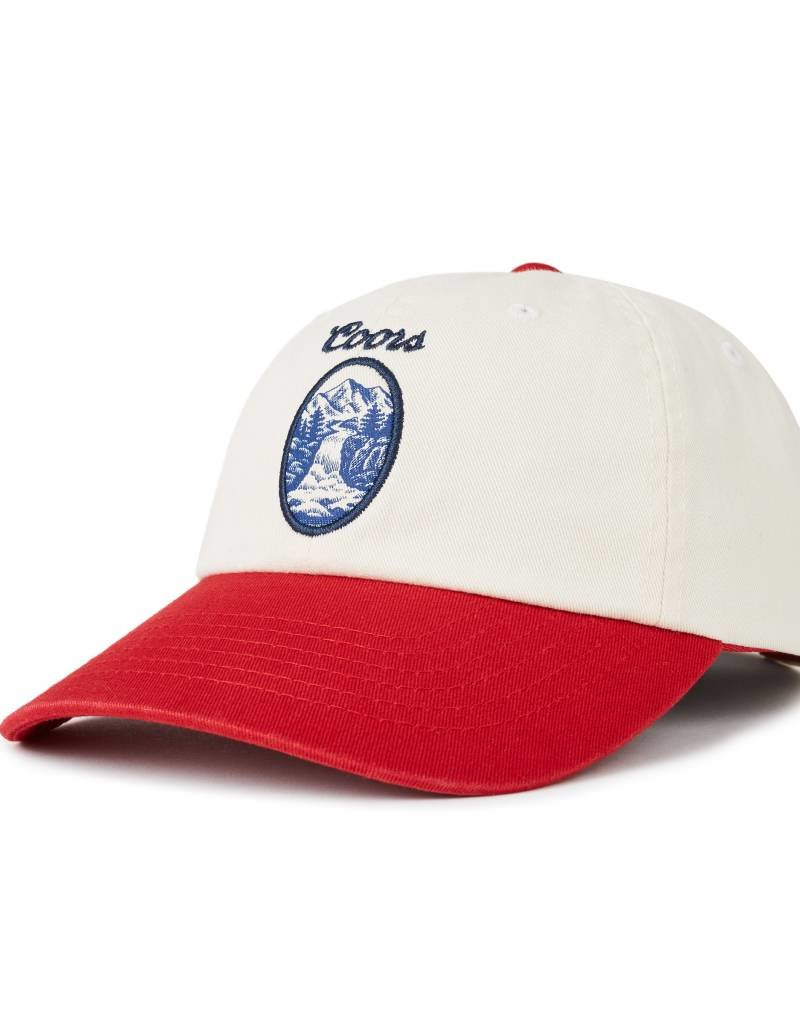 BRIXTON BRIXTON FILTERED CAP - OFF WHITE/RED