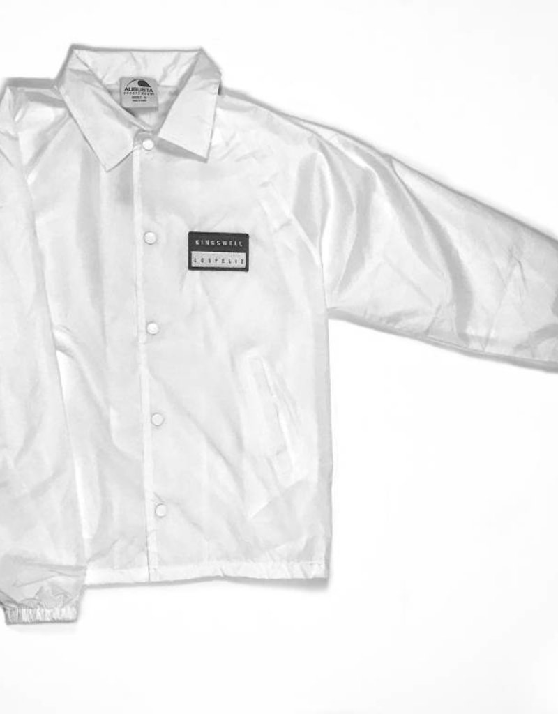 KINGSWELL KINGSWELL PATCHED COACH JACKETS