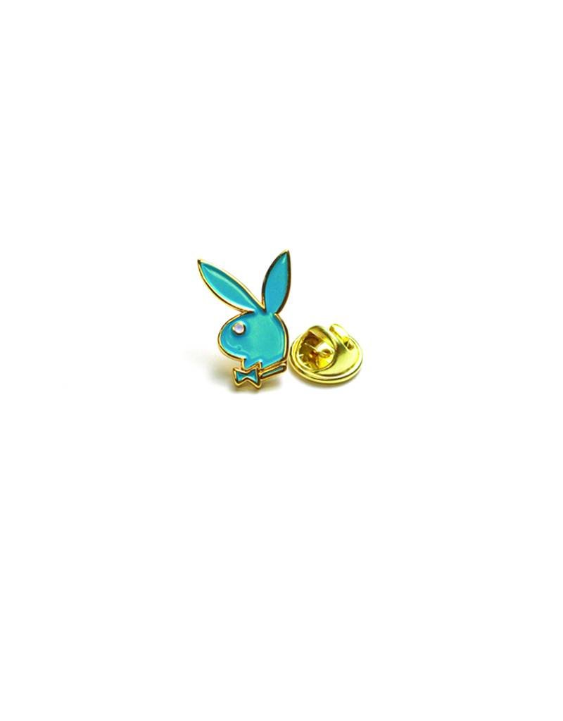 GOOD WORTH GOOD WORTH X PLAYBOY BUNNY PIN - TEAL